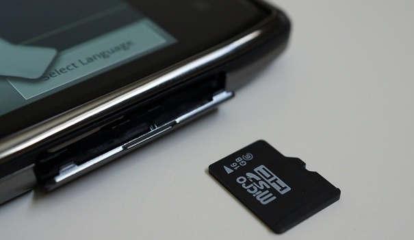 Khắc phục lỗi Thẻ nhớ Micro SD