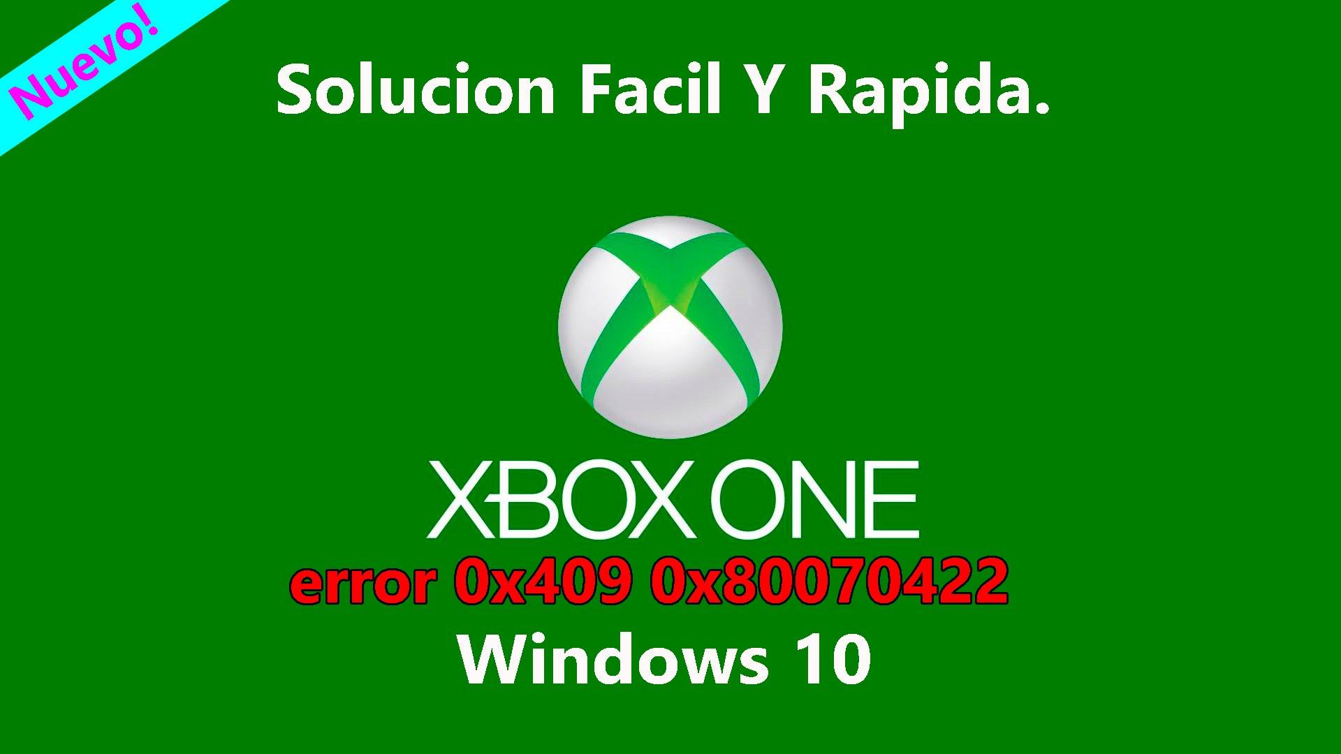 Lỗi đăng nhập Xbox (0x409) 0x80070002