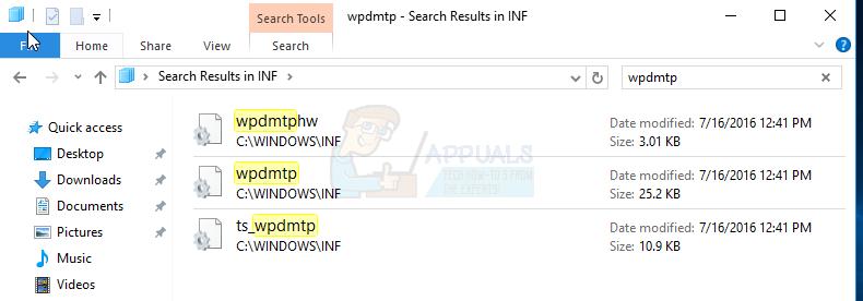 Khắc phục: Lỗi kết nối MTP trên Window 10