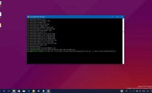 Giải nén file .tar.gz trên Windows 10