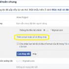 Thêm Email số điện thoại đăng nhập Facebook