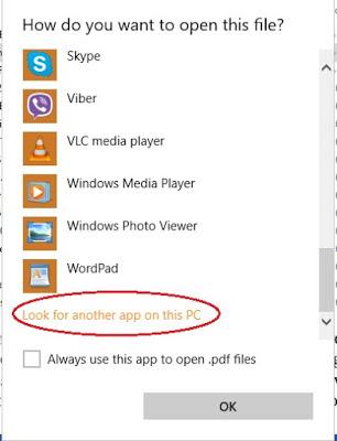 Bước 6: Duyệt máy tính để xem ứng dụng xem PDF