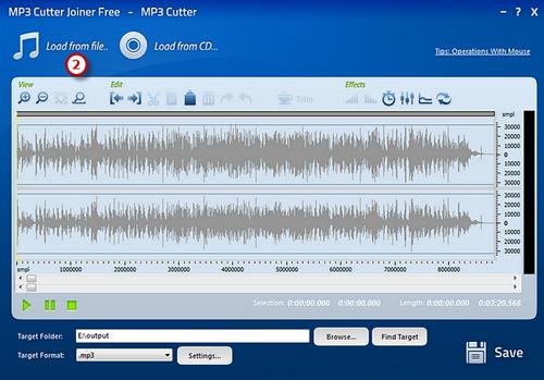 """Hướng dẫn cắt nhạc Mp3 bằng """"MP3 Cutter Joiner Free"""""""