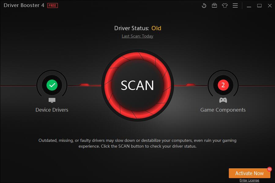 Hướng dẫn sử dụng Driver Booster 4