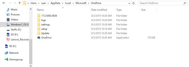 Lỗi Microsoft OneDrive đã ngừng làm việc