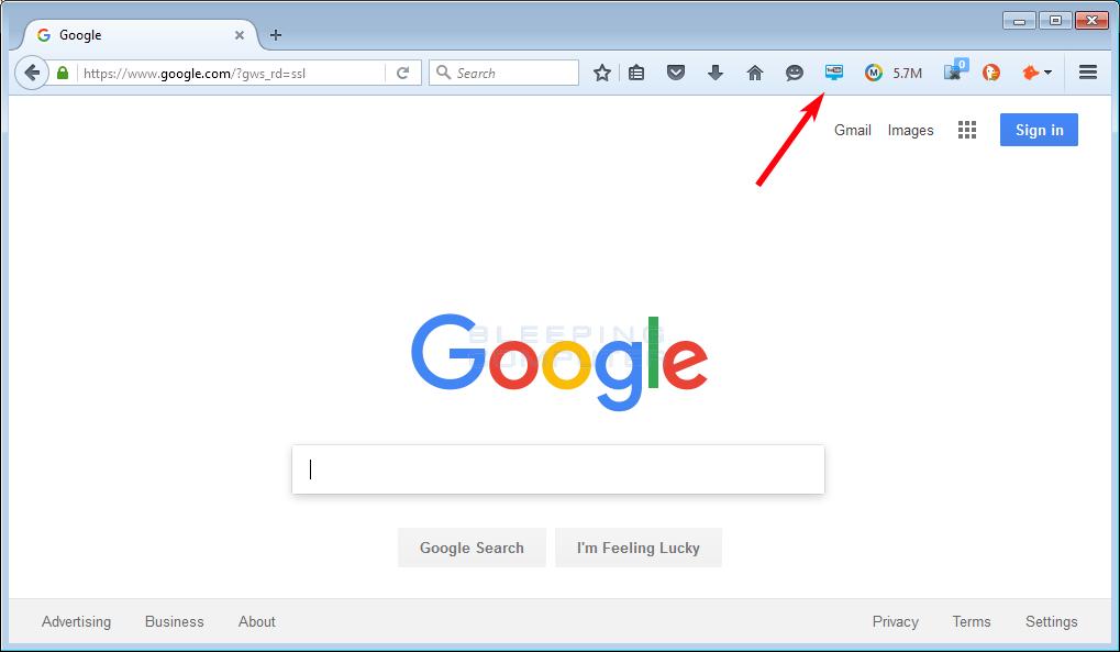 Cách Loại bỏ bớt các nút biểu tượng trên thanh dụng cụ Firefox