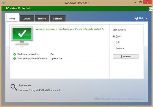 Windows Defender là gì? - Có nên sử dụng Windows Defender không.