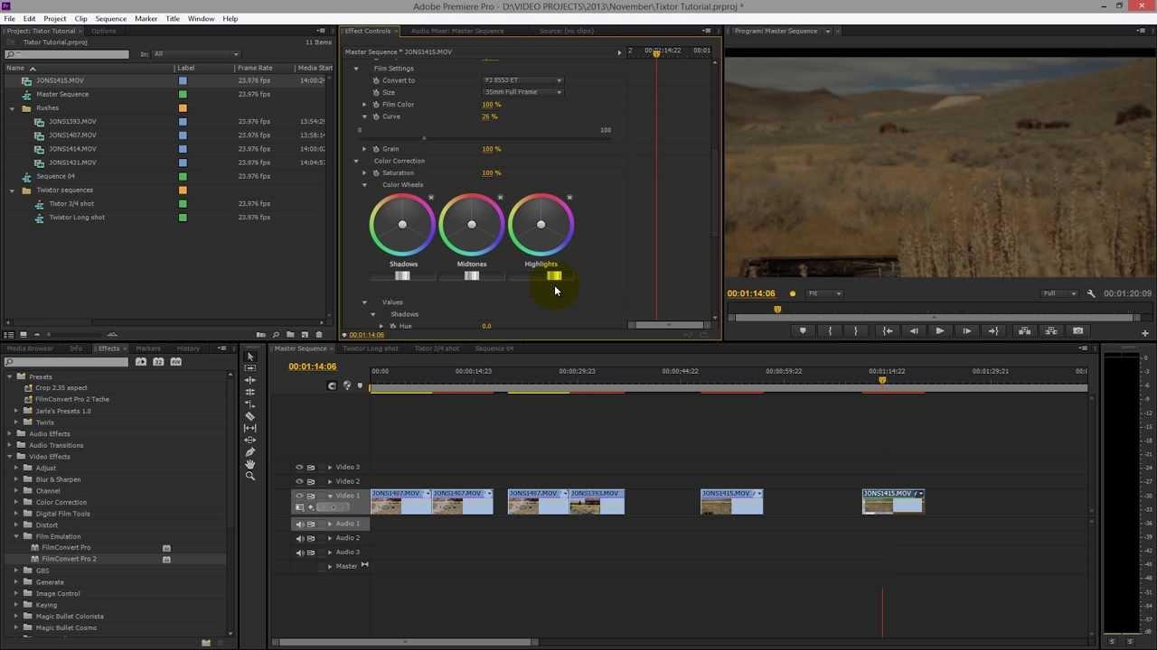 Sử dụng FilmConvert cho Premiere Pro CC