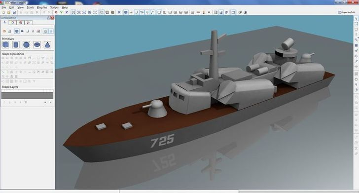 Thế kế 3D băng phần mềm 3D Crafter