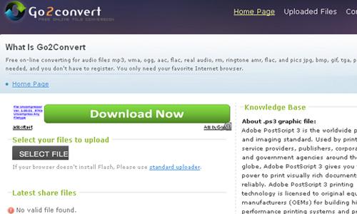 Sử dụng Youconvertit