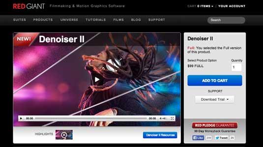 Sử dụng Denoiser II cho Premiere Pro CC