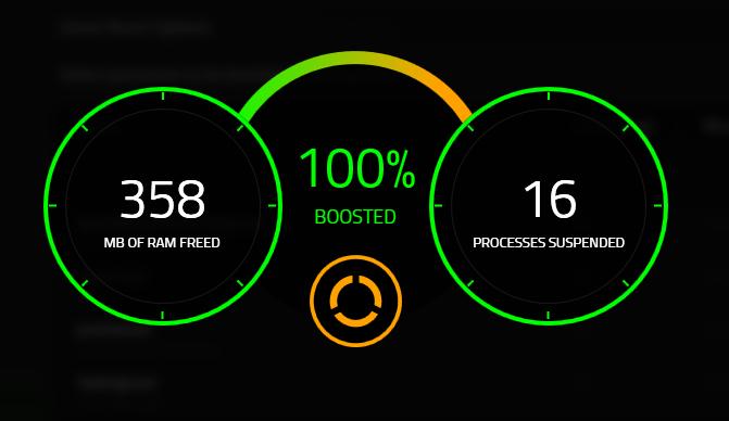 Sư dụng Razer Cortex After-Boost