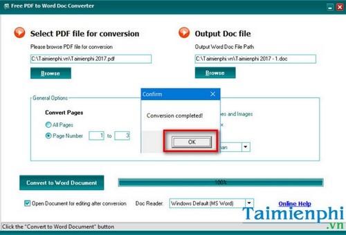 Sử dụng Free File Converter