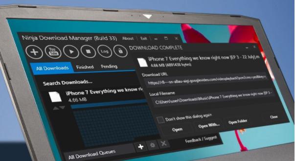 Phần mềm Download tốc độ cao miễn phí tốt nhất