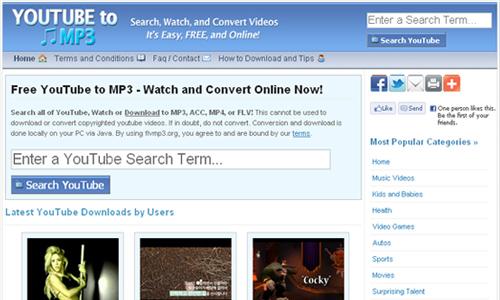 sử dụng FLV MP3