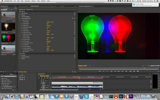Su dung Separate RGB cho Premiere Pro CC