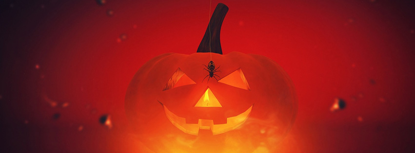 Chúc mừng Halloween trên facebook