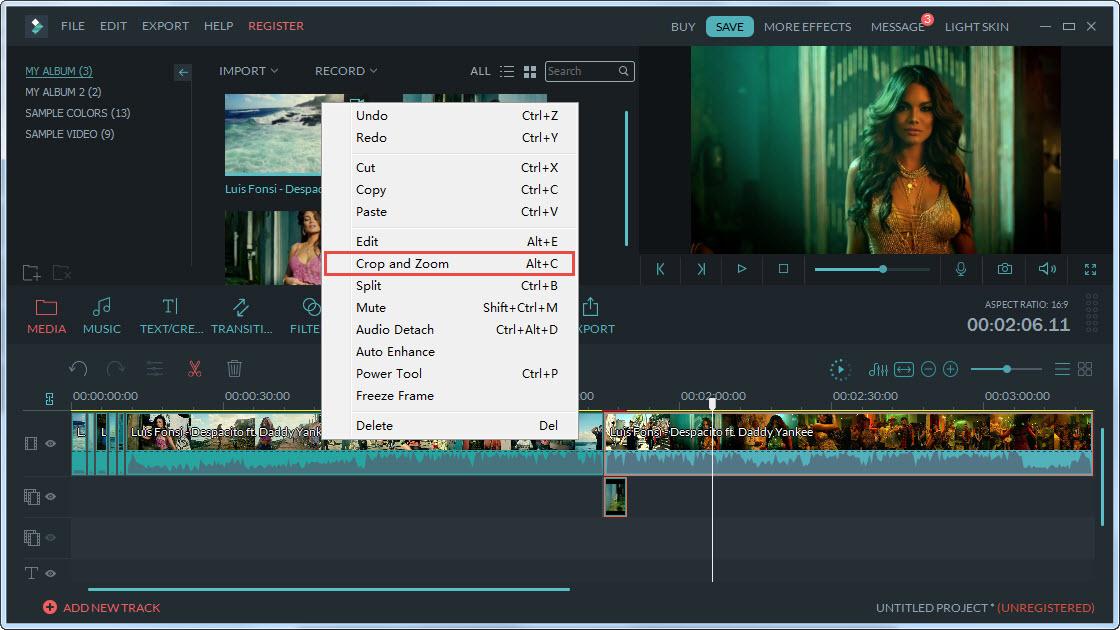 Cat video bang Filmora Video Editor