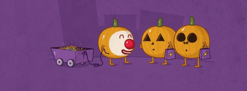 halloween facebook người bí ngô