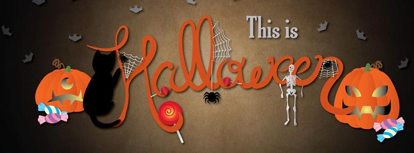 Ảnh bìa fb - Đây là halloween