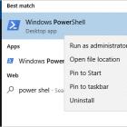Mở Windows PowerShell để sửa các tệp hỏng