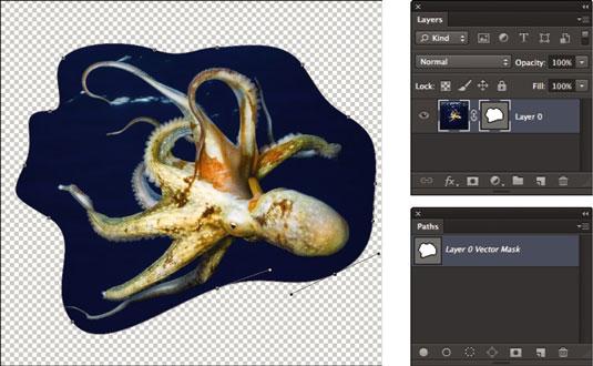 tạo mộtVector Masktrong Photoshop