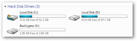 ổ đĩa ảo boxcryptor