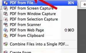 Có nhiều cách khác nhau để tạo một tệp PDF sử dụng Acrobat. Tạo PDF nhanh chóng bằng cách sử dụng lệnh menu, nhấp vào tệp vào biểu tượng ứng dụng Acrobat hoặc chuyển đổi dữ liệu clipboard. Chú thích: Tài liệu này cung cấp hướng dẫn cho Acrobat XI. Nếu bạn đang sử dụng Adobe Reader, hãy xem Tôi có thể làm gì với Adobe Reader . nếu bạn đang sử dụng Acrobat X, xem Acrobat X Trợ giúp . Và, nếu bạn đang sử dụng Adobe Acrobat 7, 8 hoặc 9, xem các phiên bản trước của Trợ giúp Acrobat. Hướng dẫn chuyển đổi file sang PDF bằng Adobe Acrobat 11 Pro Trong Acrobat, chọn Create> PDF From File. Chọn Create> PDF From File để nhanh chóng tạo ra một file PDF từ một tài liệu hiện có. Trong hộp thoại Open, chọn tệp bạn muốn chuyển đổi.Bạn có thể duyệt qua tất cả các loại tập tin hoặc chọn một loại cụ thể từ menu Files Of Type. Acrobat hiển thị tất cả tài liệu Microsoft Word trong thư mục đã chọn. Tùy chọn, nhấp vào Settings để thay đổi các tùy chọn chuyển đổi nếu bạn đang chuyển đổi tệp hình ảnh sang PDF.Các tùy chọn có sẵn khác nhau tùy thuộc vào loại file. Chú thích:Nút Settings không khả dụng nếu bạn chọn All Files làm loại tệp hoặc nếu không có cài đặt chuyển đổi nào cho loại tệp đã chọn.(Ví dụ: nút Settings không khả dụng cho các tệp Microsoft Word và Microsoft Excel.) Nhấp vào Open để chuyển đổi tệp sang PDF. Tùy thuộc vào loại tệp được chuyển đổi, ứng dụng tác giả sẽ tự động mở ra hoặc hộp thoại tiến độ xuất hiện.Nếu tệp ở định dạng không được hỗ trợ, một thông báo sẽ xuất hiện, cho bạn biết rằng tệp không thể chuyển sang PDF. Khi PDF mới mở ra, chọn File> Save hoặc File>Save As;sau đó chọn một tên và vị trí cho PDF. Chú thích:Khi đặt tên cho tệp PDF nhằm phân phối điện tử, hãy giới hạn tên tệp là tám ký tự (không có dấu cách) và bao gồm đuôi .pdf.Hành động này đảm bảo rằng các chương trình email hoặc các máy chủ mạng không cắt bớt tên tệp và tệp PDF sẽ mở như mong đợi. Kéo và thả để tạo tệp PDF Phương pháp này tốt nhất dành cho các tệp nhỏ, đơn giản, chẳng hạn như tệp hình ảnh 
