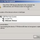 Lỗi máy tính không nhận ổ cứng