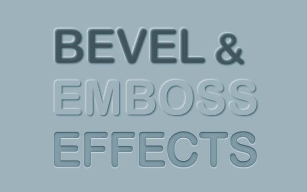 Tao hieu ung Bevel & Emboss cho van ban trong Illustrator