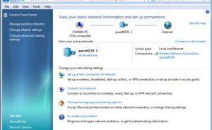 chia sẻ kết nối Internet Windows 7