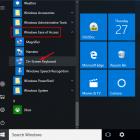 Mở Bàn phím ảo Windows 10 trên màn hình từ Start Menu