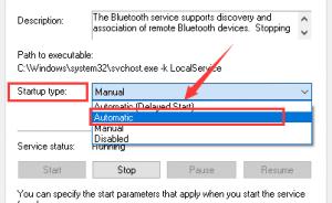 Bluetooth khong hoat dong tren Windows