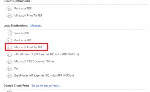 Cách Tạo file PDF trong Windows