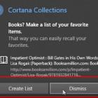 Làm thế nào để Tạo bộ sưu tập trong Cortana Windows 10 Hình ảnh 3