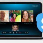 hội nghị video nhóm skype