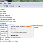Gỡ bỏ, Vô hiệu hoá, Lùi lại, Cập nhật trình điều khiển thiết bị trong Windows 10/8/7