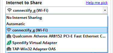 Cách sử dụng Connectify Hotspot để phát Wifi trên máy tính