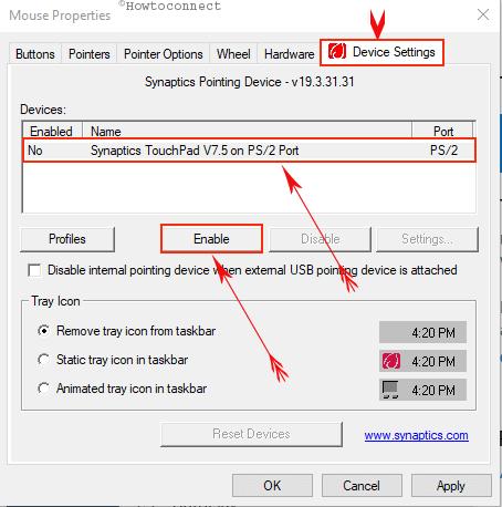 Khắc phục Chuột cảm ứng Laptop HP bị khóa trong Windows 10