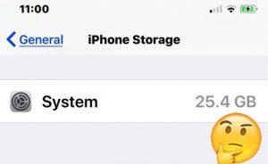 Cách giảm dung lượng bộ nhớ Hệ thống lớn được sử dụng trên iPhone hoặc iPad