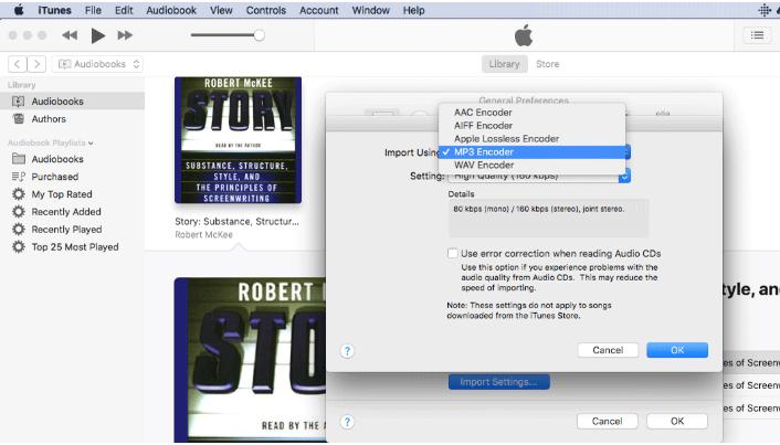 Chuyen doi sang MP3 voi iTunes