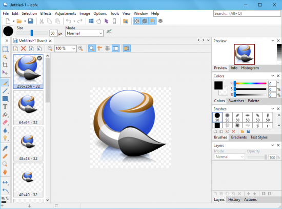 Download icofx 3.2.1 thiet ke chuyen doi dinh dang icon trong Windows