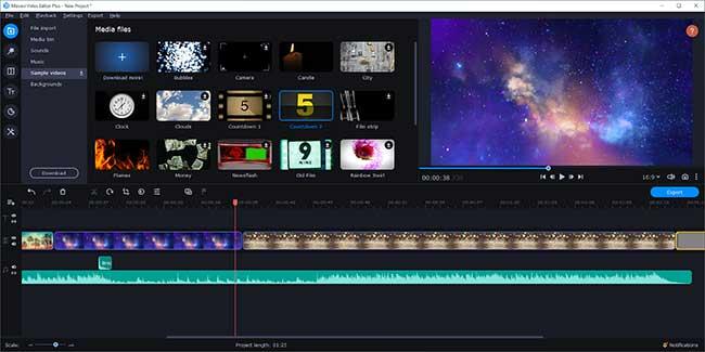 Movavi Video Editor Plus 21