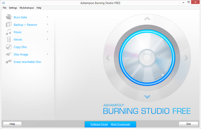 Phần mềm ghi đĩa miễn phí