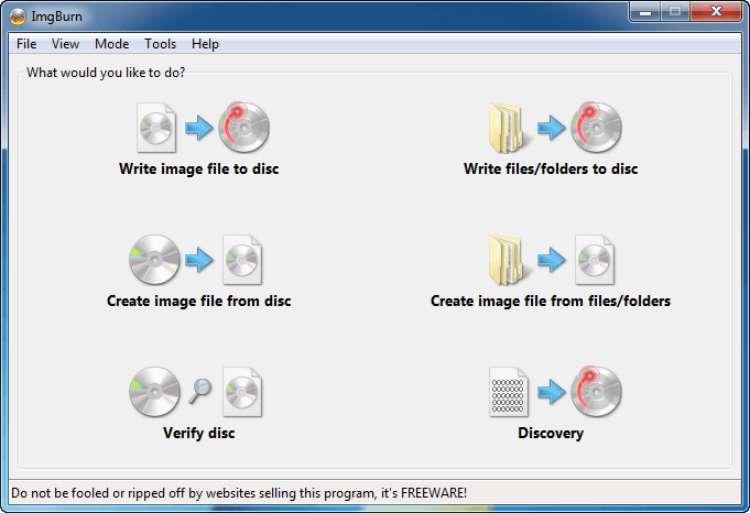 Ghi đĩa CD/DVD/HD DVD/Blu-ray miễn phí
