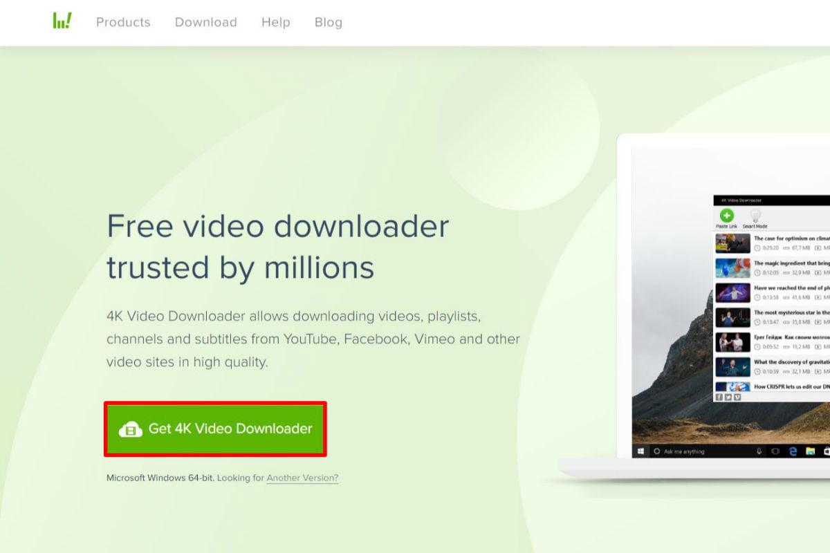 Cách tải xuống video youtube Trình tải video 4k 2