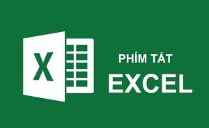 Các phím tắt Excel trong Mac và Windows