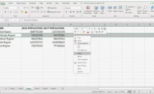 cách thêm hoặc xóa các hàng và cột Excel