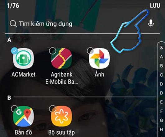 Cách Ẩn ứng dụng trên điện thoại Samsung