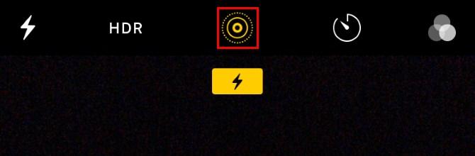Bật live photos tắt âm thanh chụp ảnh trên iPhone
